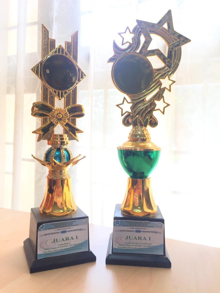 Juara 1 Lomba Debat Ekonomi, Juara 1 Lomba Musikalisasi Economic Celebration Unismuh Makassar